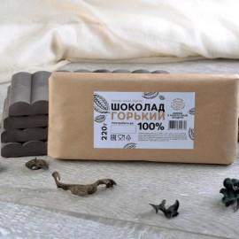 Шоколад горький 100%, 220гр.