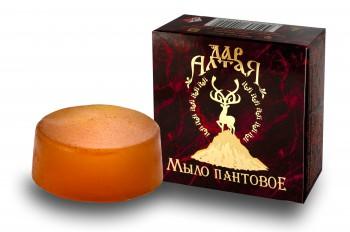 Мыло Пантовое С Маслом Пачули, 80 Грамм