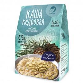Каша Кедровая (40гр*5пак), 200 гр
