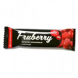 Батончик протеиновый Fruberry с малиной, 40 г