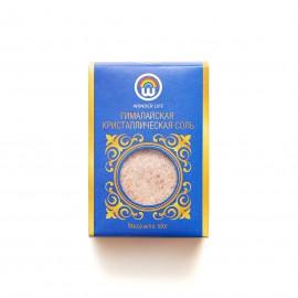 Соль гималайская розовая мелкая, 500гр.