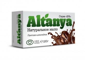 Мыло шоколадно-пантовое