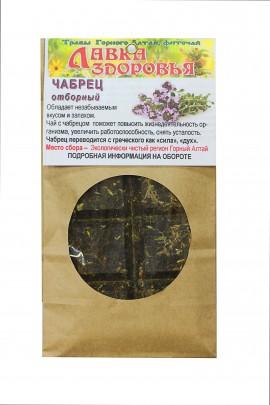 Копорский чай с чабрецом плитка, 100 г
