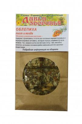 Копорский чай с облепихой плитка, 100 г