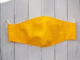 Дизайнерская маска для лица - желтая